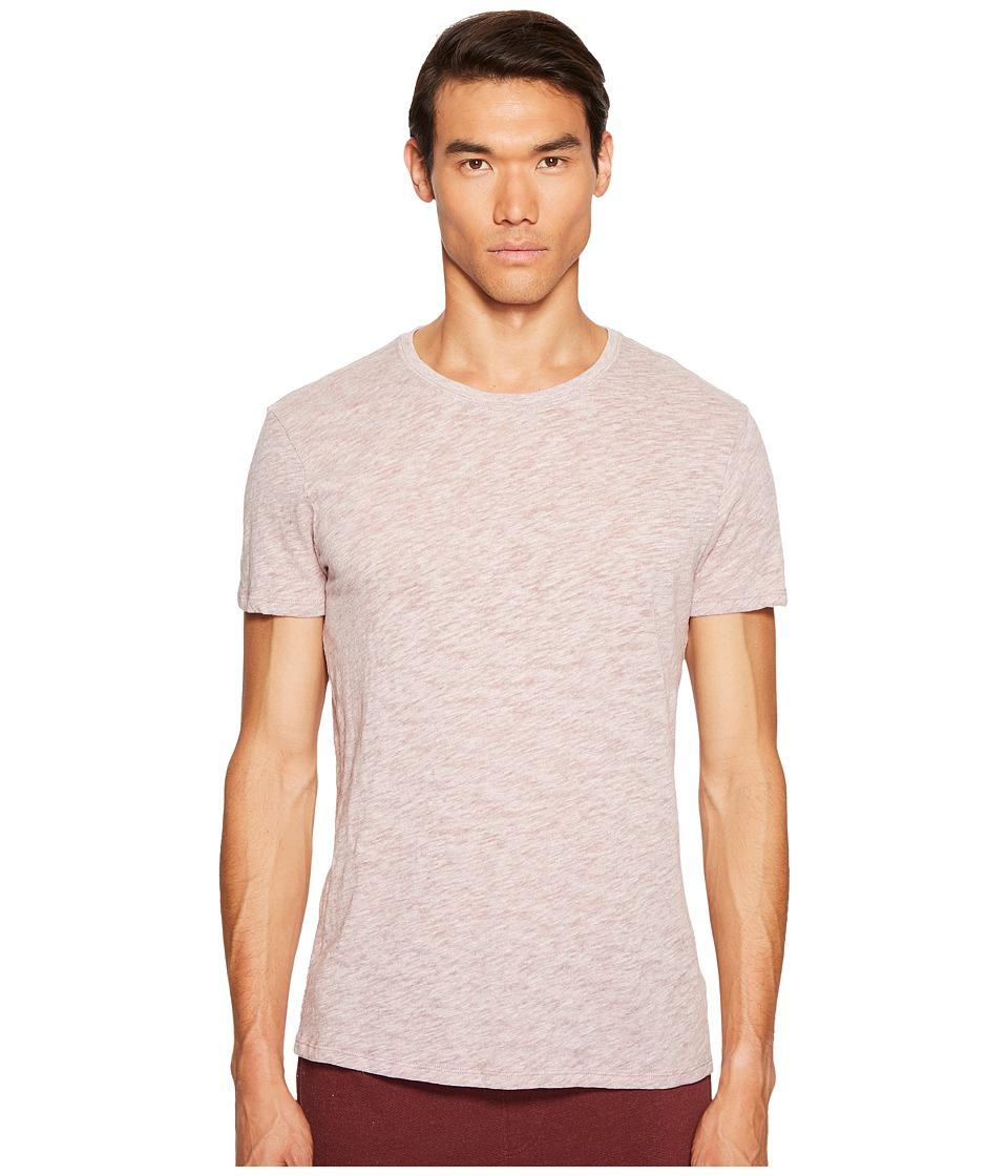 ATM Anthony Thomas Melillo - Short Sleeve Crew Tee (Brownstone) Men's T Shirt