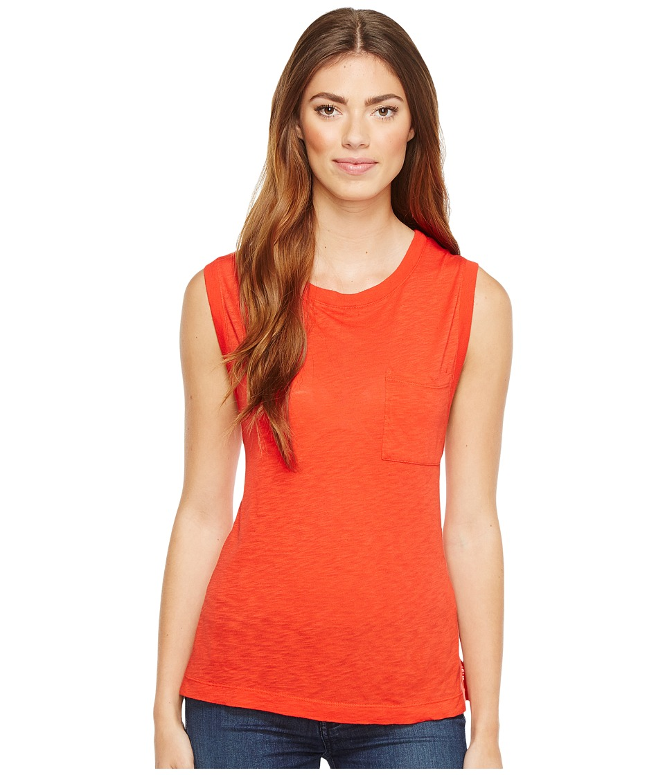 Splendid - Slub Muscle Tank (Fiesta) Women's Sleeveless