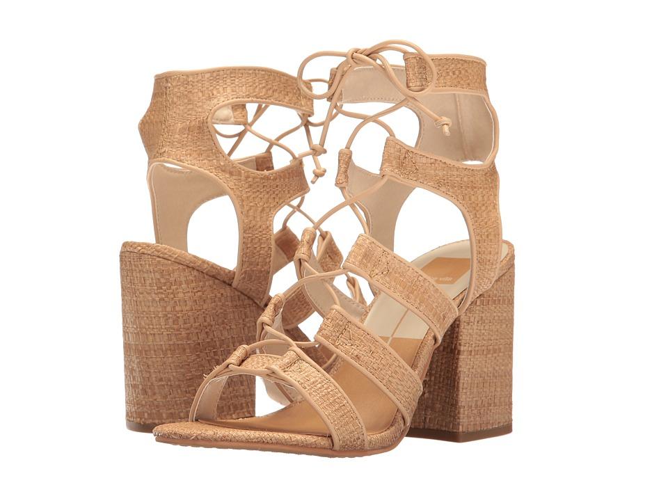 Dolce Vita - Eva (Natural Raffia) Women's Shoes