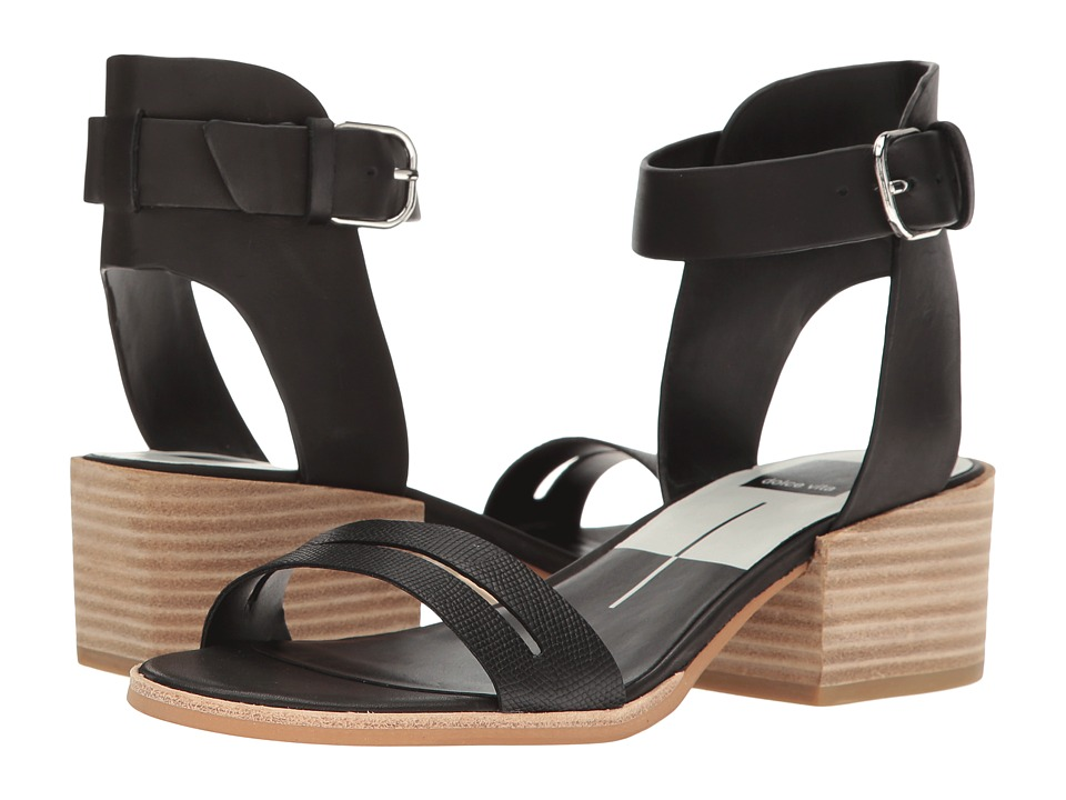 Dolce Vita - Rae (Black Leather) Women's Shoes