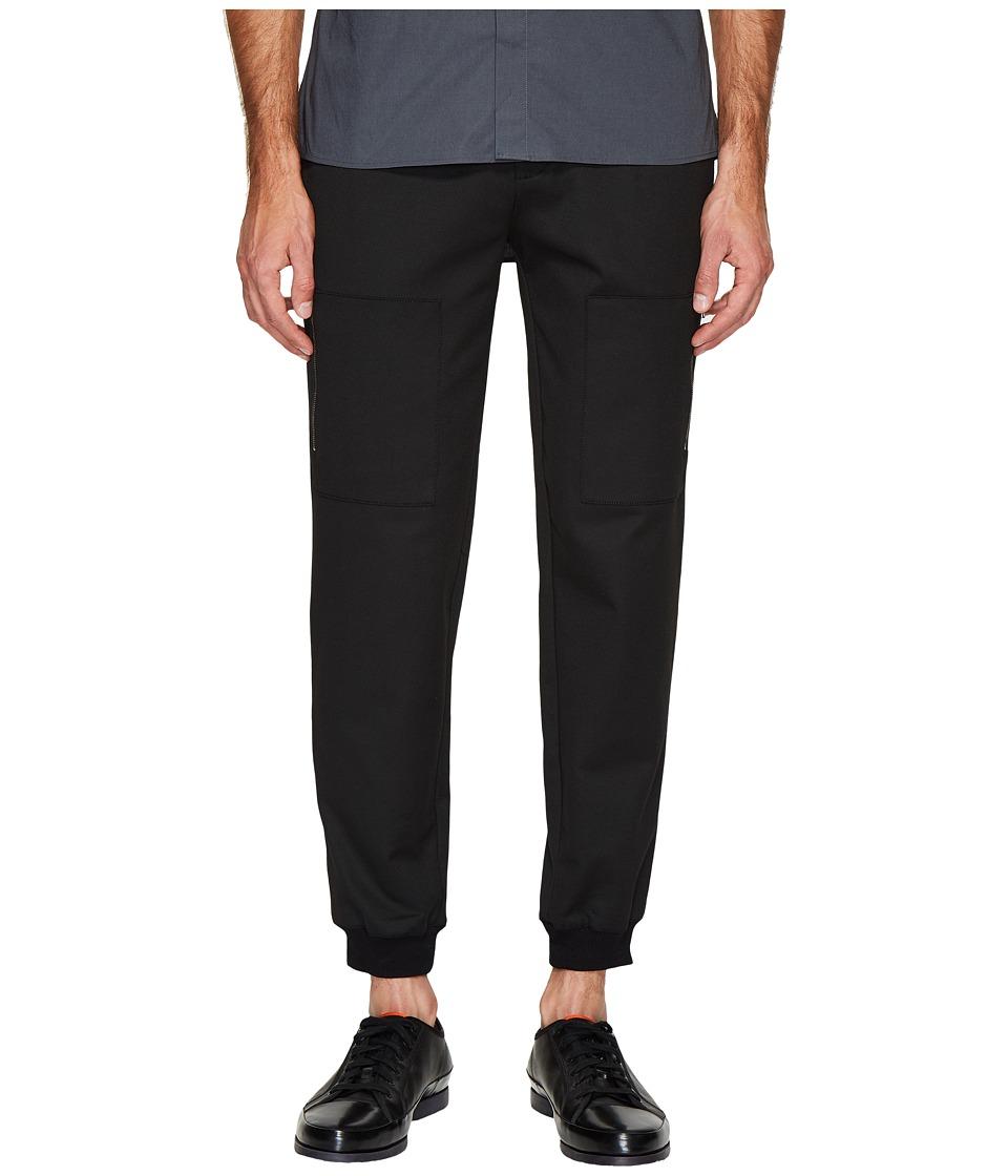 ATM Anthony Thomas Melillo - Patch Pocket Pants (Black) Men's Casual Pants