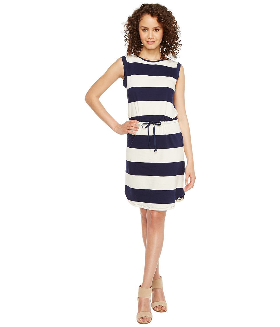 Splendid - Cinch Tee Dress (Navy) Women's Dress