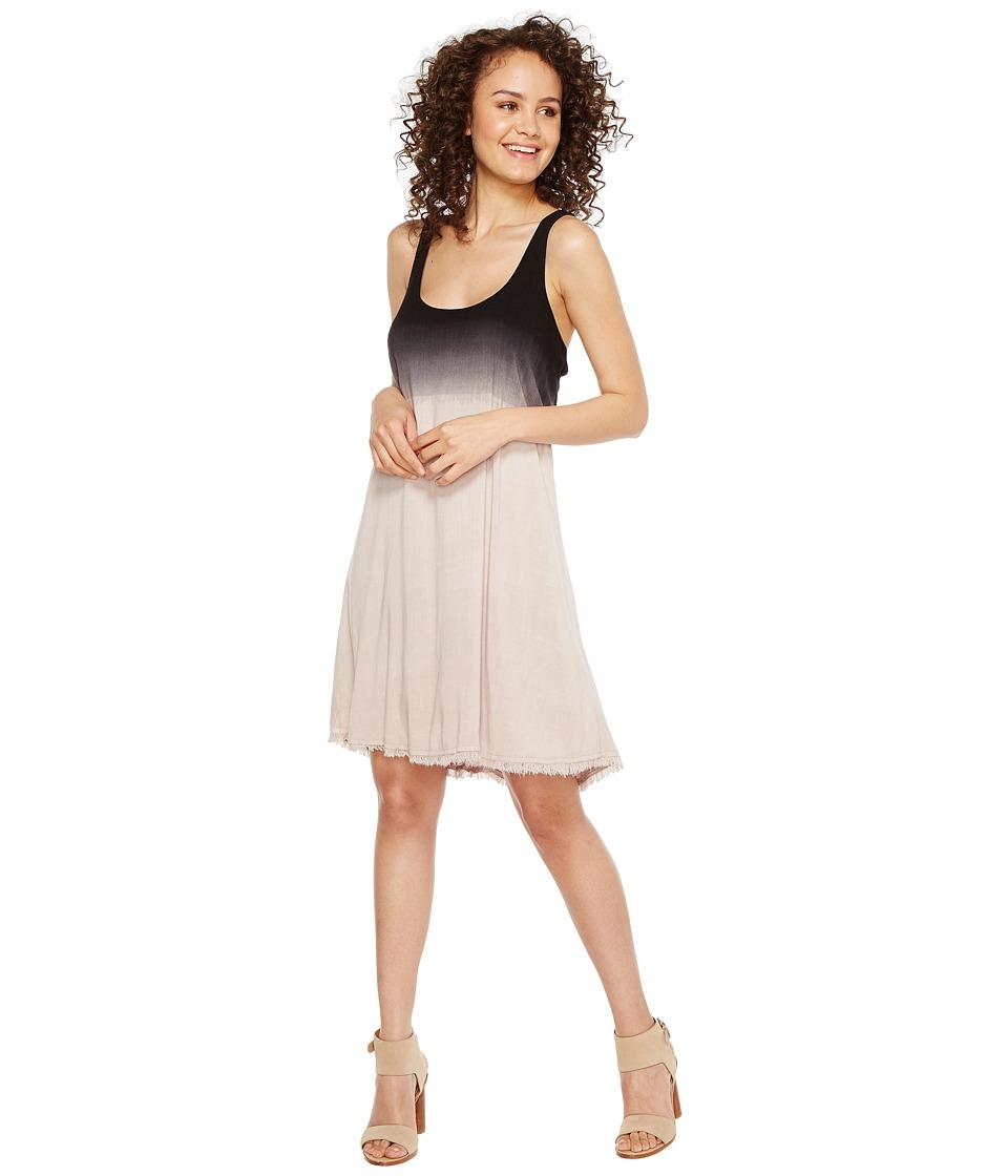 Splendid Twist Back Dress (Black/Putty) Women