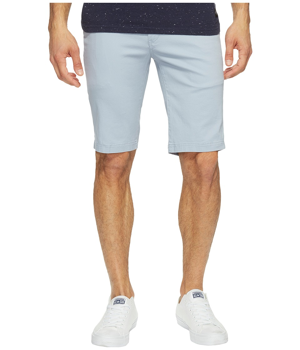 Ben Sherman - Stretch Slim Chino Shorts (Light Blue) Men's Shorts