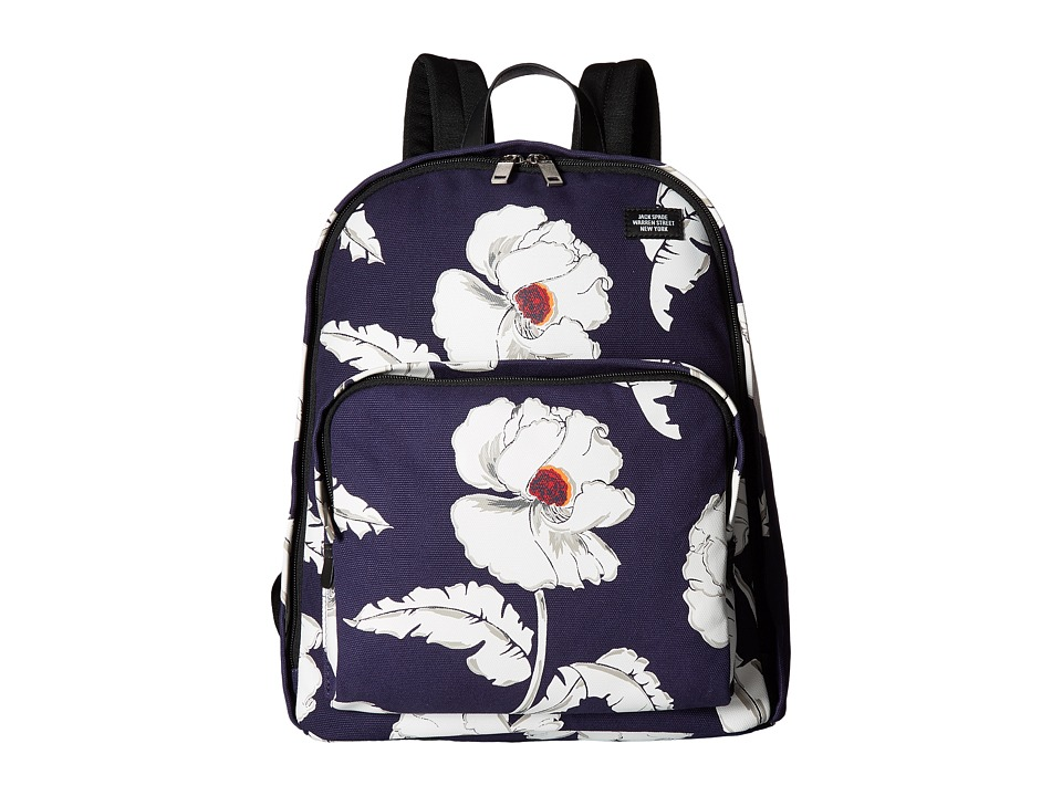 Jack Spade - Book Pack (Navy) Backpack Bags
