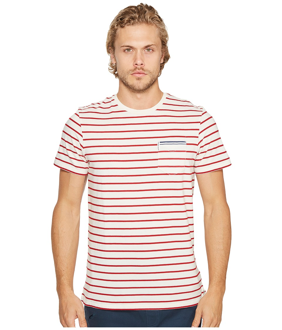 Ben Sherman - Engineered Tipping Breton Tee (Turtledove) Men's T Shirt