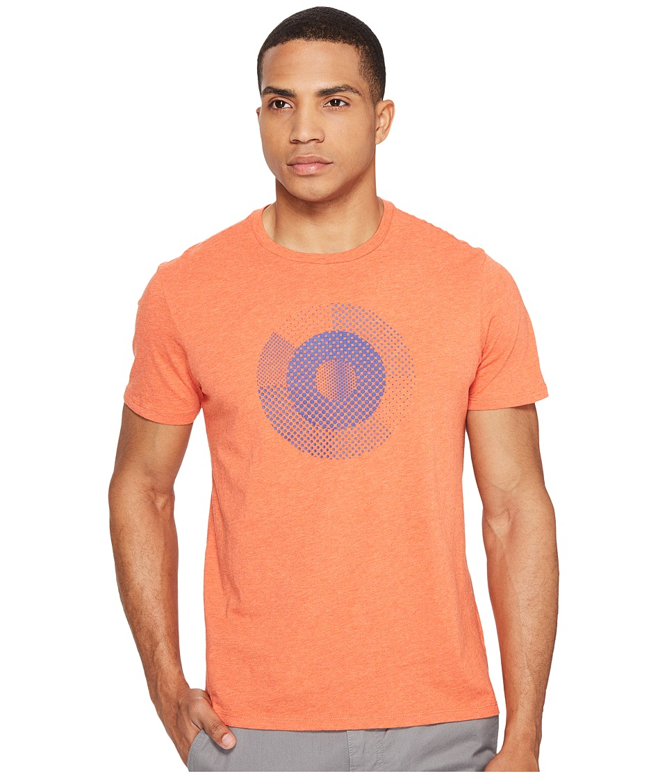 Ben Sherman - Hero Pixelated Target Tee (Mecca Orange Marl) Men's T Shirt