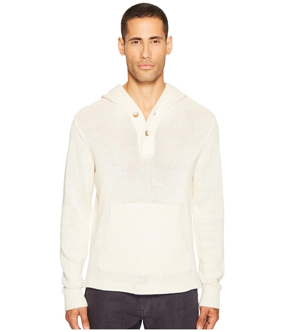 Jack Spade - Baja Hoodie (Ecru) Men's Sweatshirt