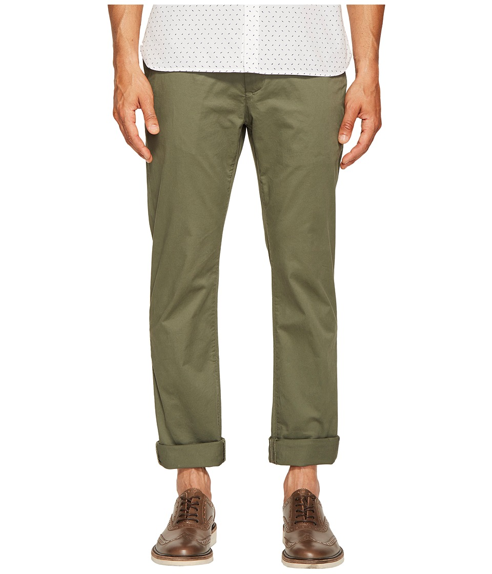 Jack Spade - Slim Trousers (Army Green) Men's Casual Pants
