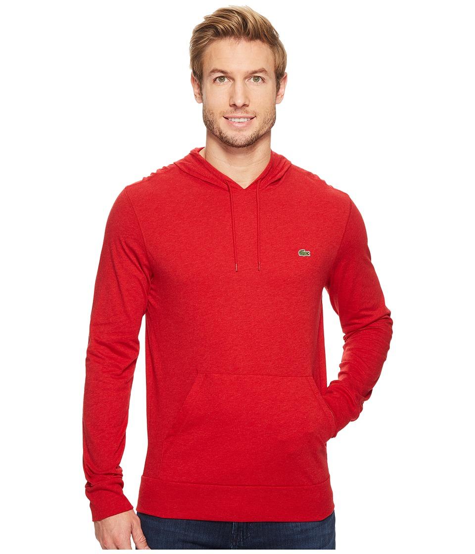 Lacoste - Jersey T-Shirt Hoodie (Grenadine Chine) Men's Sweatshirt