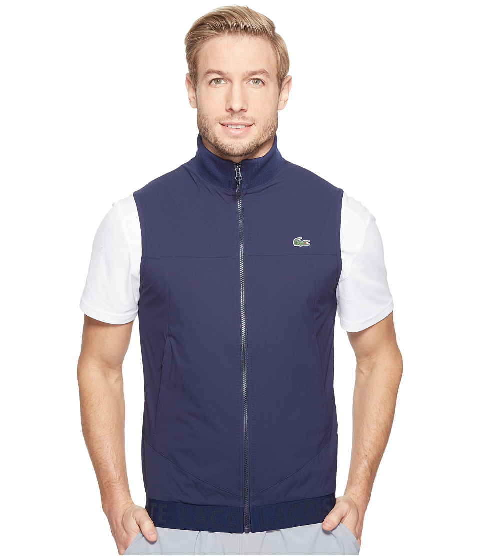 Lacoste - Golf Vest (Navy Blue) Men's Vest