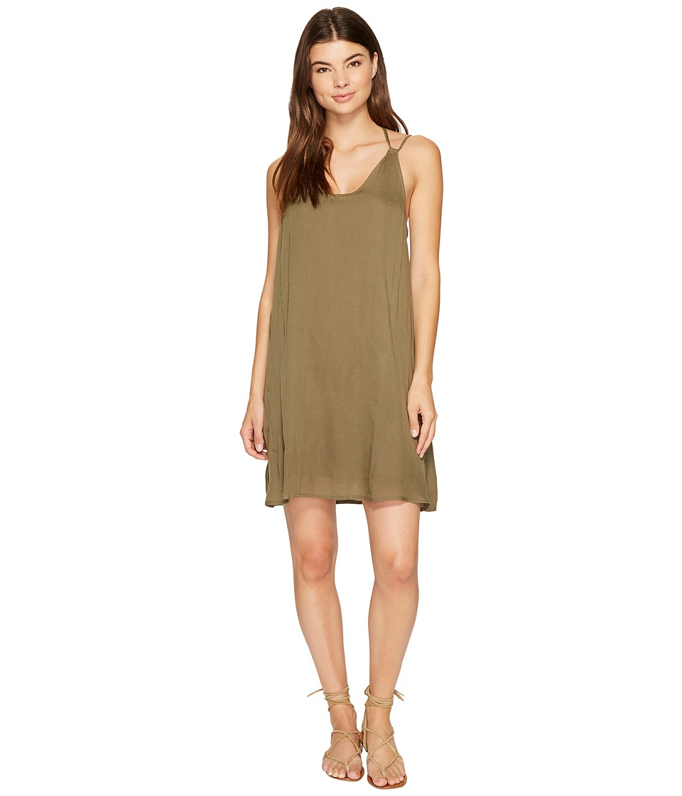 Roxy - Dome of Amalfi Dress (Dusty Olive) Women's Dress