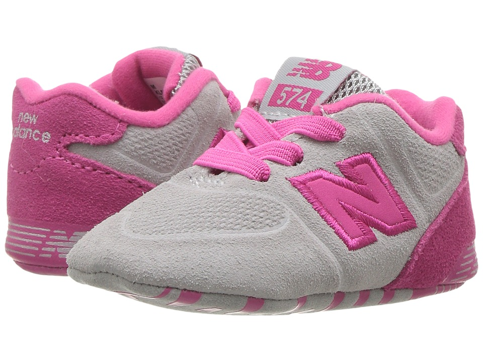 New Balance Kids KL574v1 (Infant) (Pink/Pink) Girls Shoes