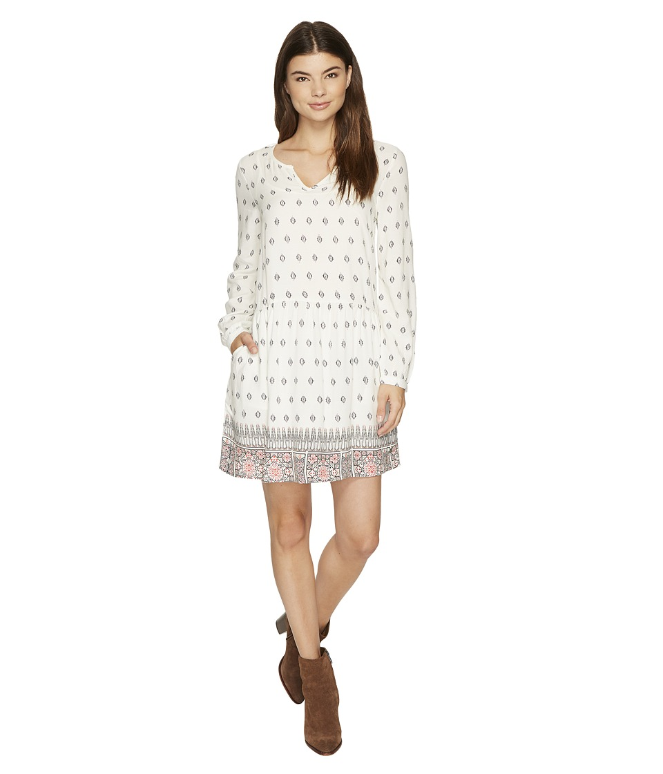 Roxy - Sunkissed Daze Dress (Marshmallow Chief Prado Border) Women's Dress