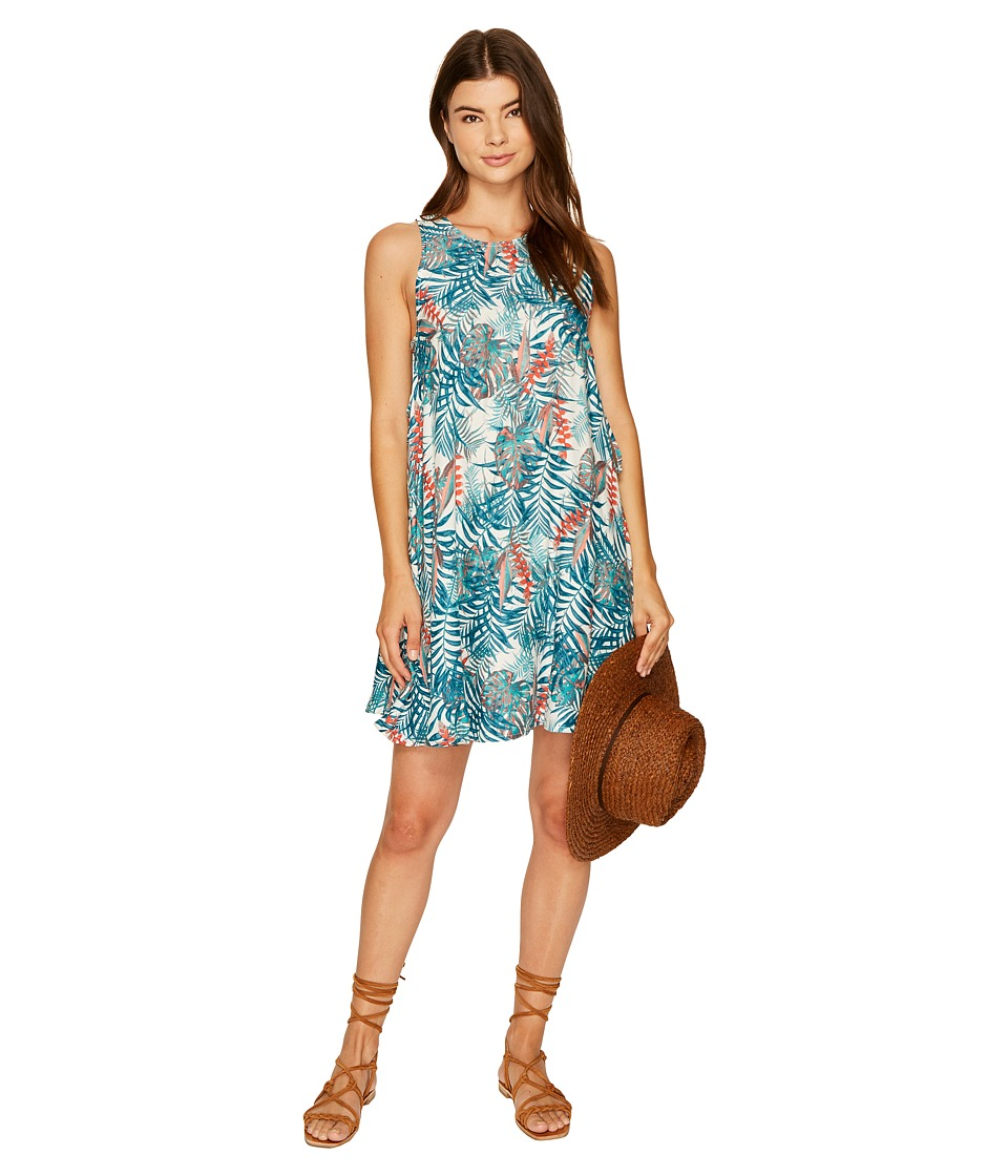 Roxy - Tomorrow's Dress (Marshmallow Jungly Flowers) Women's Dress