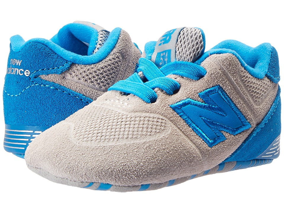 New Balance Kids - KL574v1 (Infant) (Grey/Blue) Boys Shoes