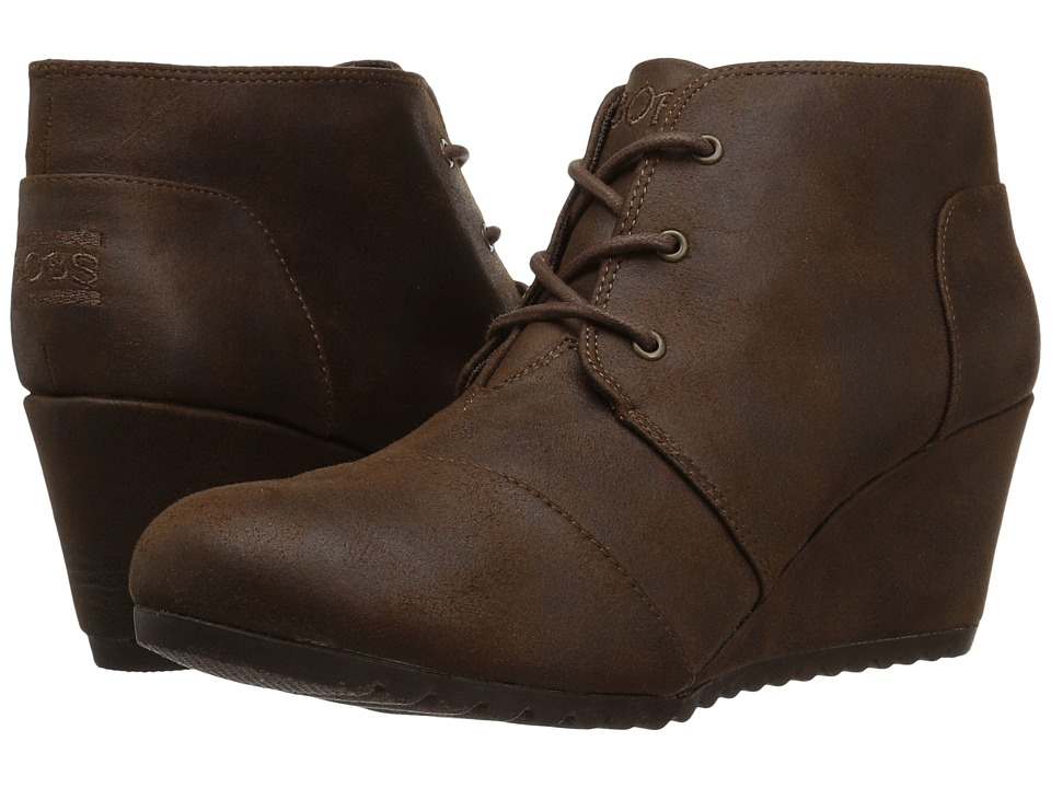 BOBS from SKECHERS High Notes Bell Kick (Brown) Women