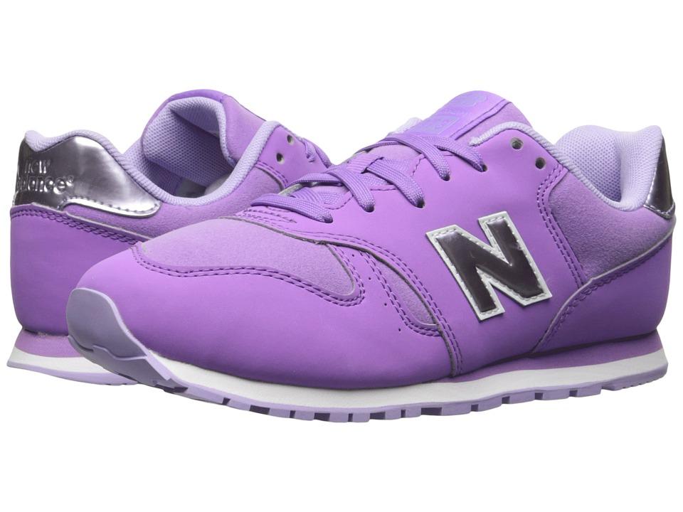 New Balance Kids KJ373 (Little Kid/Big Kid) (Purple/Lilac) Girls Shoes