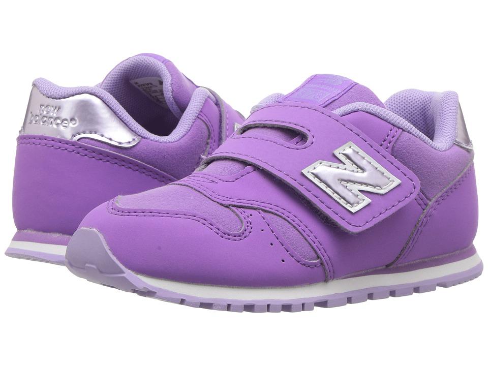 New Balance Kids KV373v1 (Infant/Toddler) (Purple/Lilac) Girls Shoes
