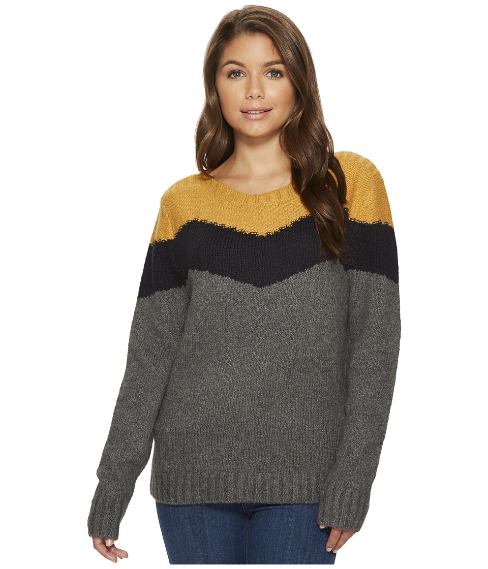 Roxy - Love Endures Sweater (Charcoal Heather) Women's Clothing
