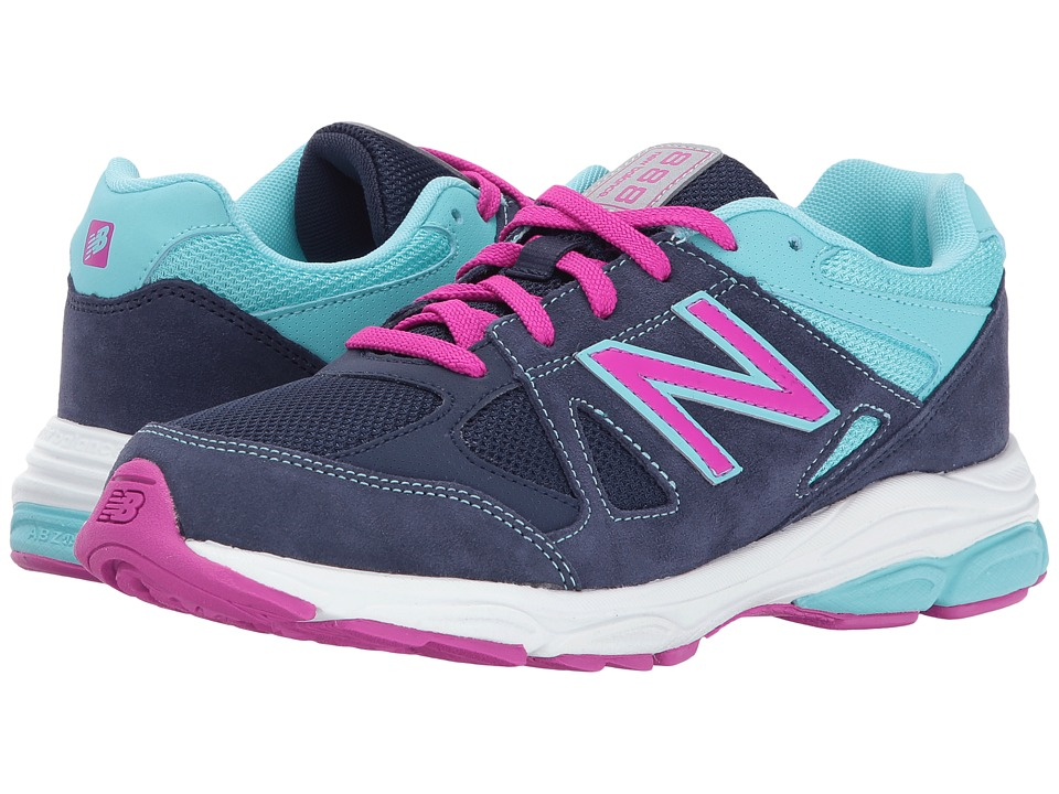 New Balance Kids KJ888v1 (Big Kid) (Blue/Purple) Girls Shoes