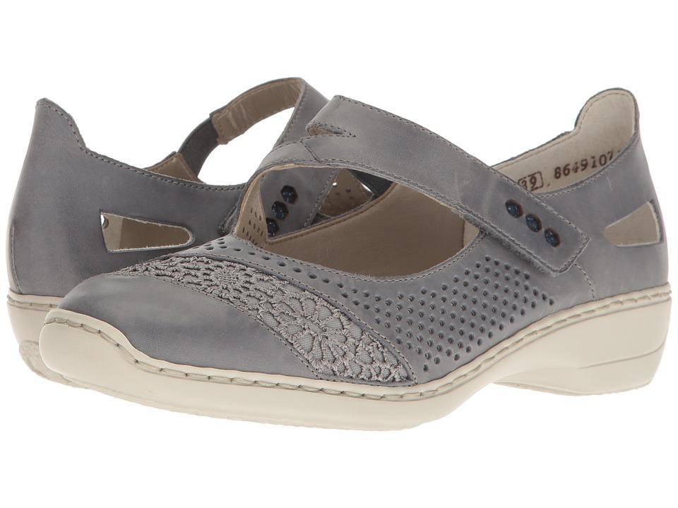 Rieker - 41346 Doris 46 (Azur/Jeans/Royal/Roy) Women's Shoes