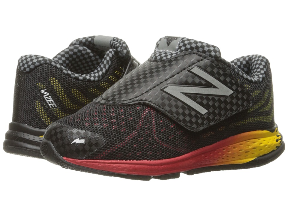 New Balance Kids Vazee Rush v2 Disney Pixar (Infant/Toddler) (Black/Red) Boys Shoes