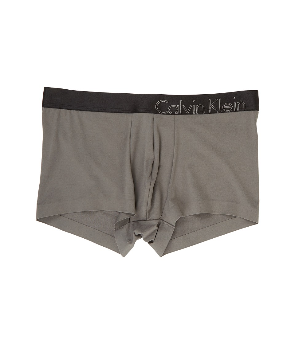 Calvin Klein Underwear - Edge Micro Low Rise Trunk (Grey Sky) Men's Underwear