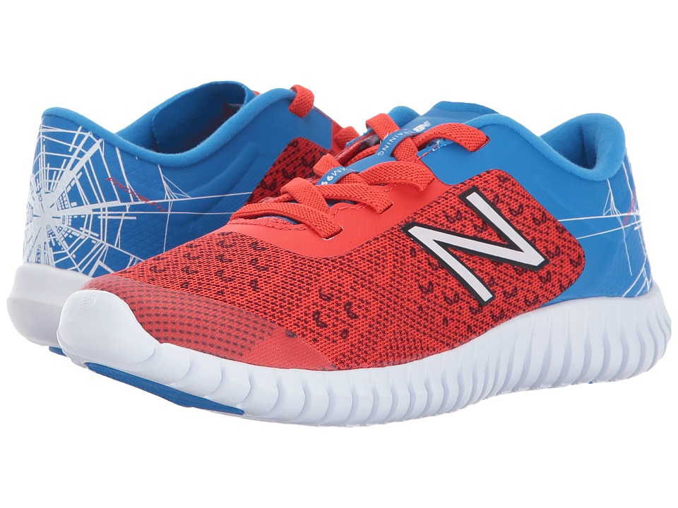 New Balance Kids - KV99v2 Spider-Man(r) (Little Kid/Big Kid) (Red/Blue) Boys Shoes