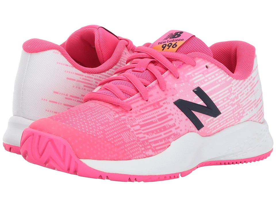 New Balance Kids - KC996 (Little Kid/Big Kid) (Alpha Pink/Alpha Pink) Girls Shoes