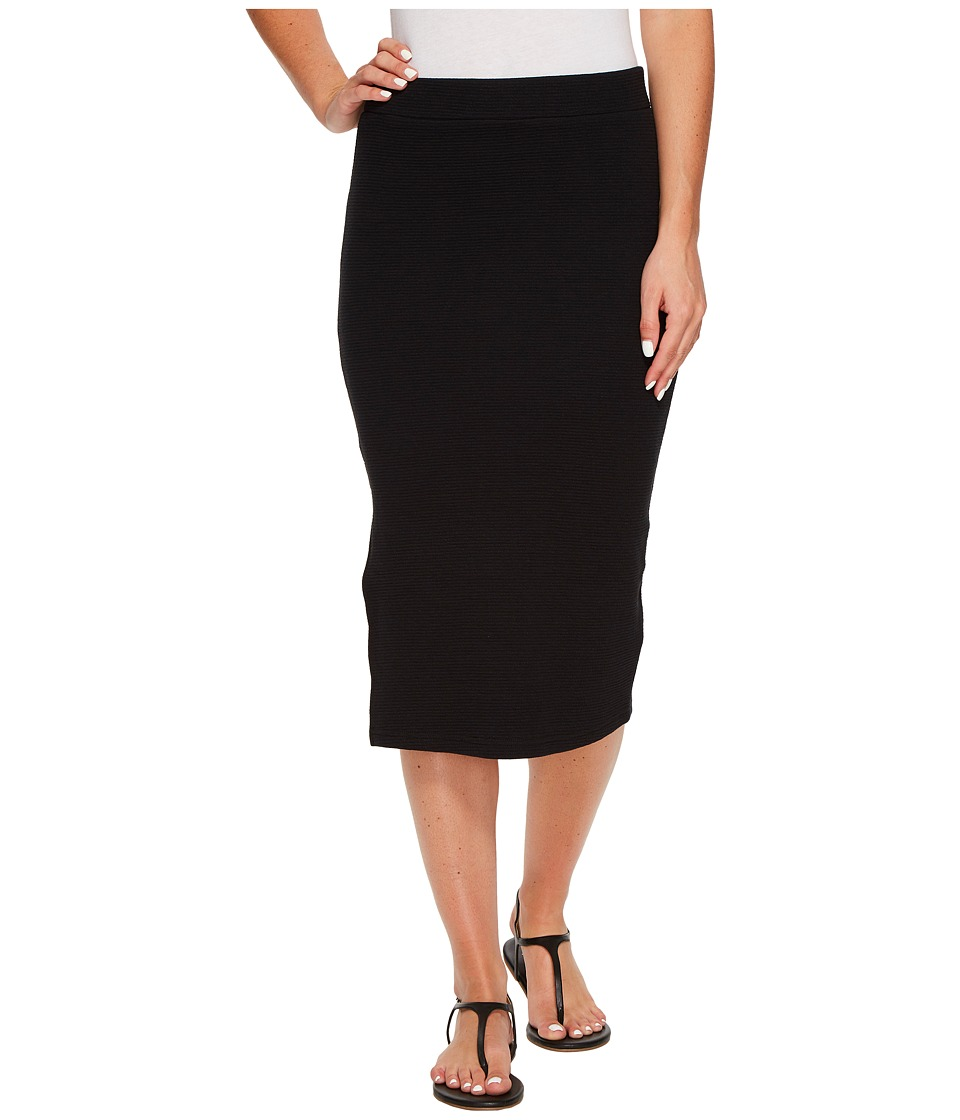 Roxy - Away From The City Midi Bodycon Skirt (Anthracite) Women's Skirt