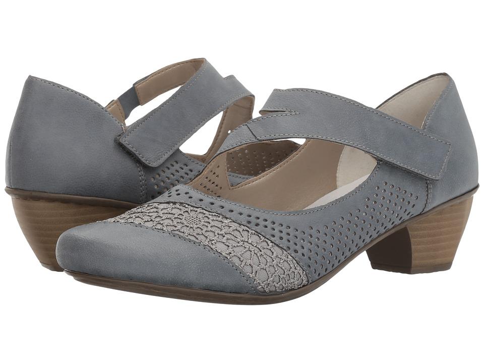 Rieker - 41743 Mariah 43 (Adria/Jeans/Preston/Lismoretex) Women's Shoes