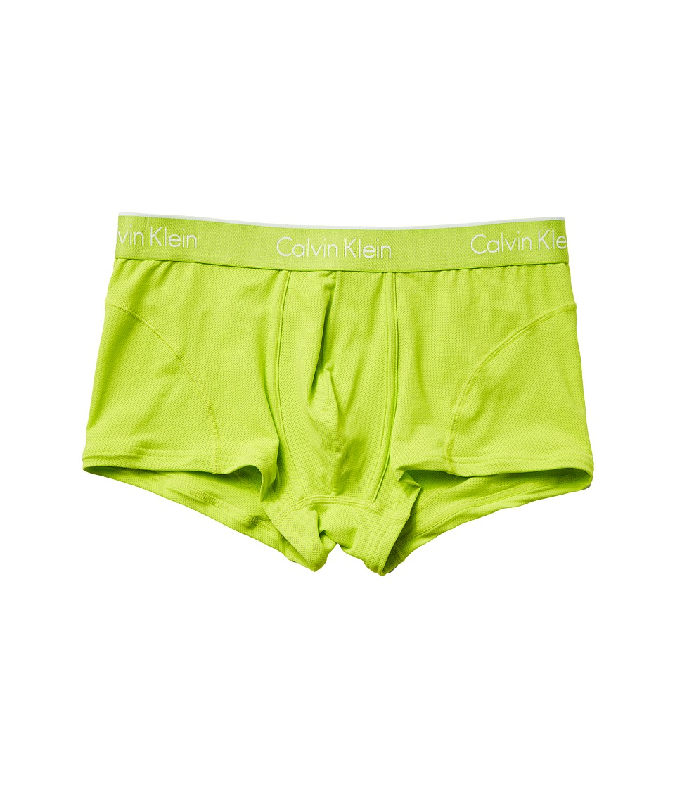 Calvin Klein Underwear Air Micro Low Rise Trunk (Bright Lime) Men