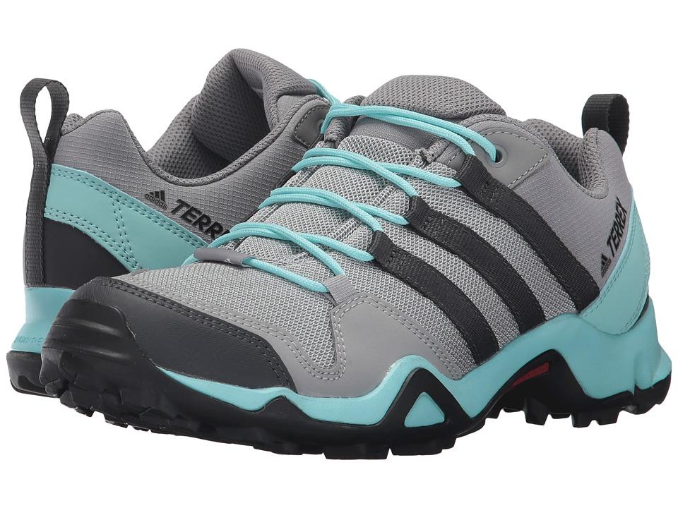 adidas Outdoor Terrex AX2R (Charcoal Solid Grey/DGH Solid Grey/Clear Aqua) Women