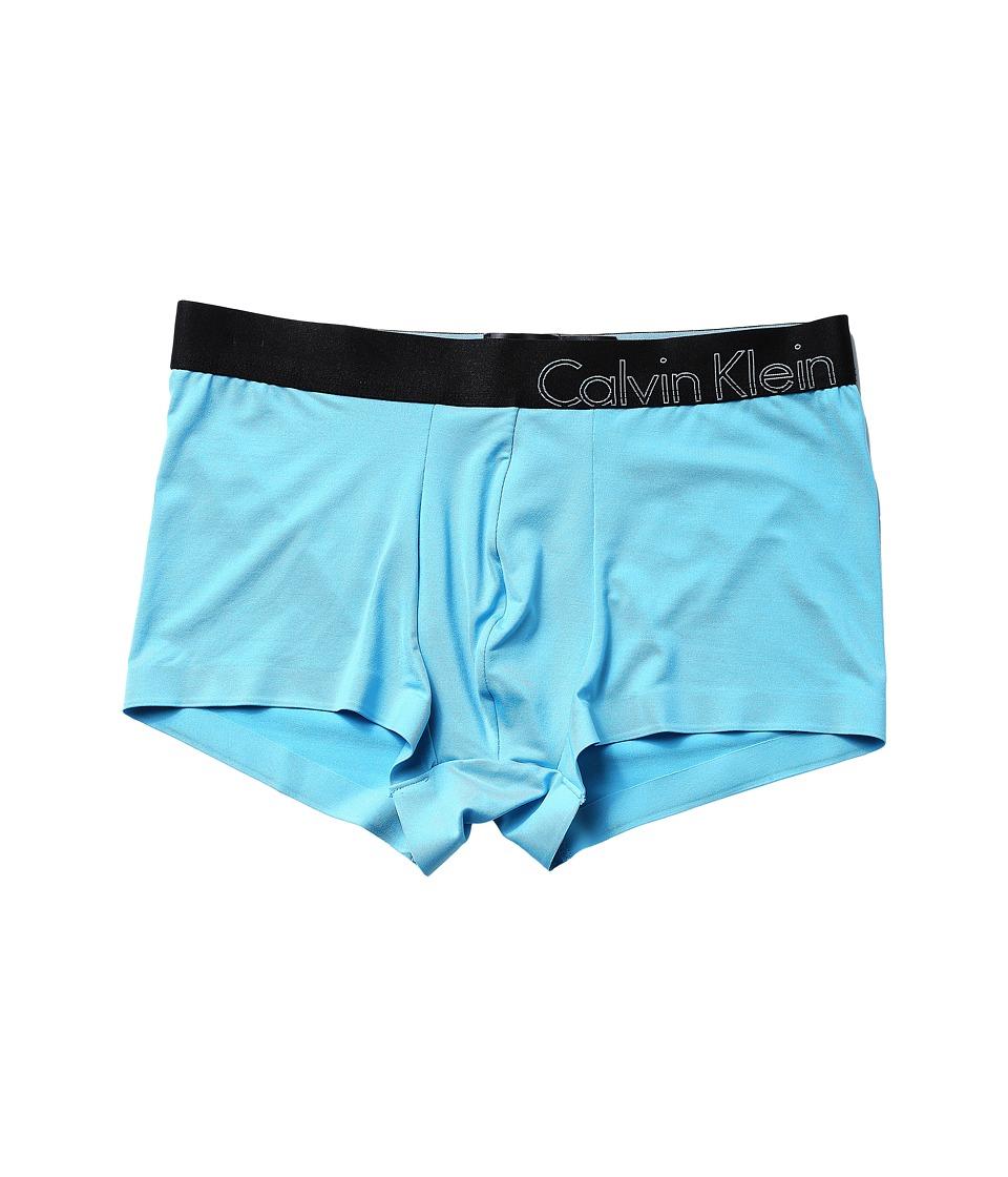 Calvin Klein Underwear - Edge Micro Low Rise Trunk (Dodger Blue) Men's Underwear