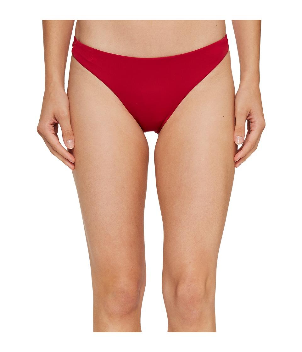 Roxy - Strappy Love Surfer Bikini Bottom (Persian Red) Women's Swimwear