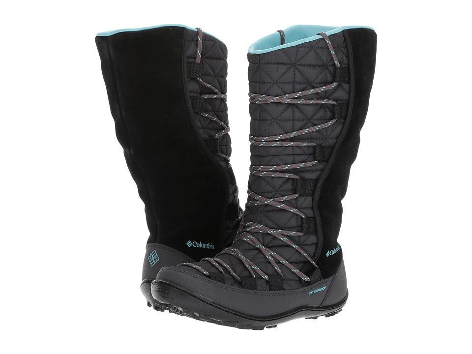 Columbia Kids Loveland Omni-Heat (Little Kid/Big Kid) (Black/Iceberg) Girls Shoes