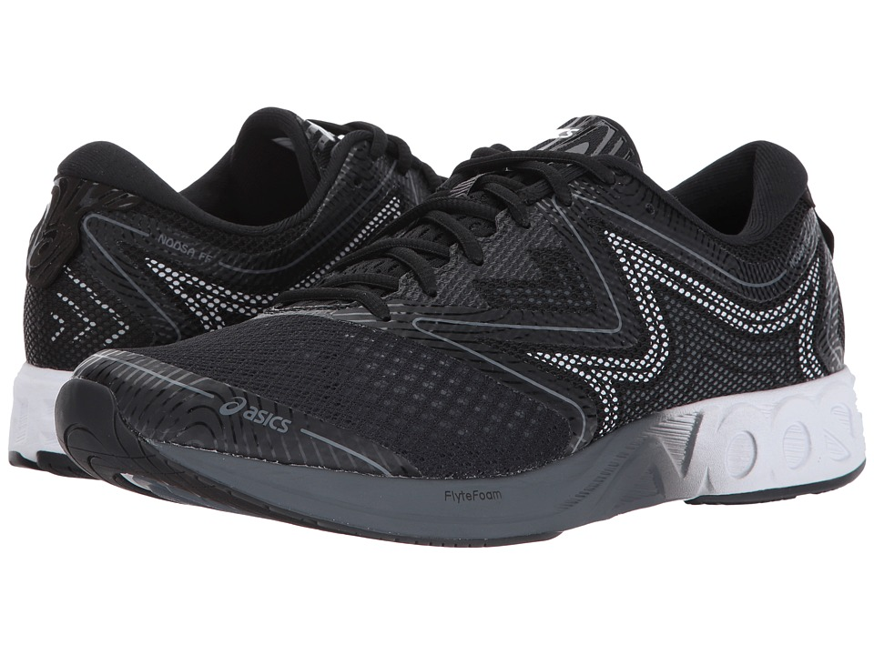 ASICS - Noosa FF (Black/White/Carbon) Men's Running Shoes