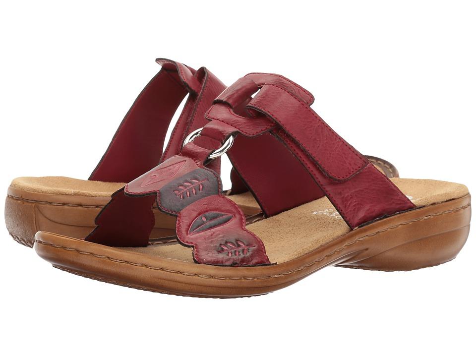 Rieker - 608R4 Regina R4 (Wine) Women's Shoes