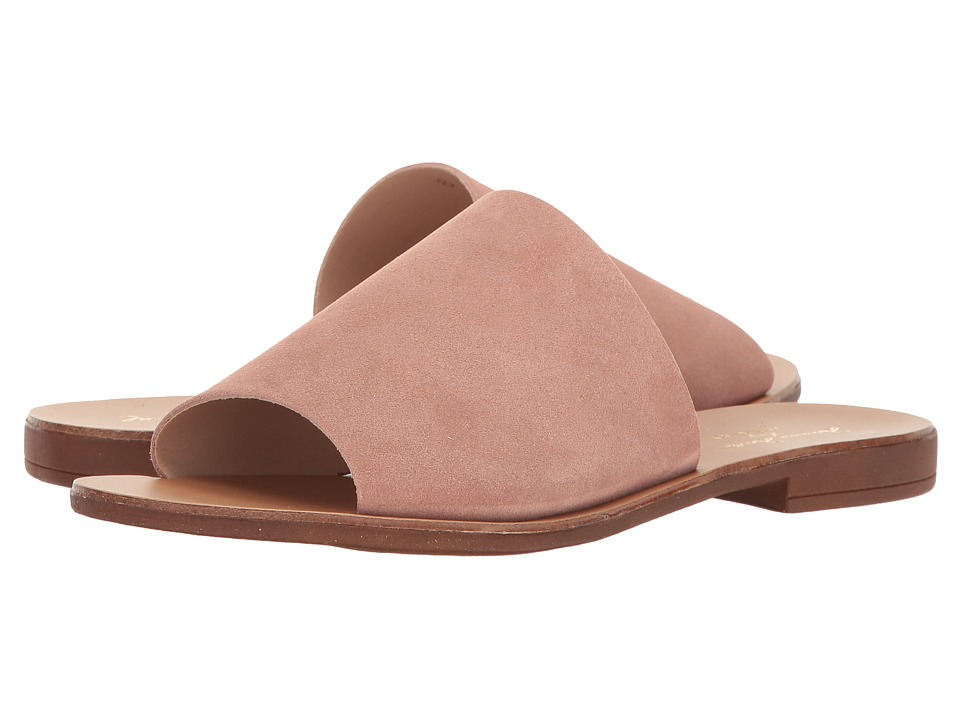 Massimo Matteo - Slide 17 (Pink Suede) Women's Slide Shoes