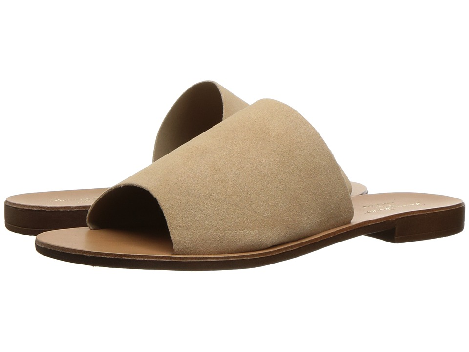 Massimo Matteo Slide 17 (Taupe Suede) Women