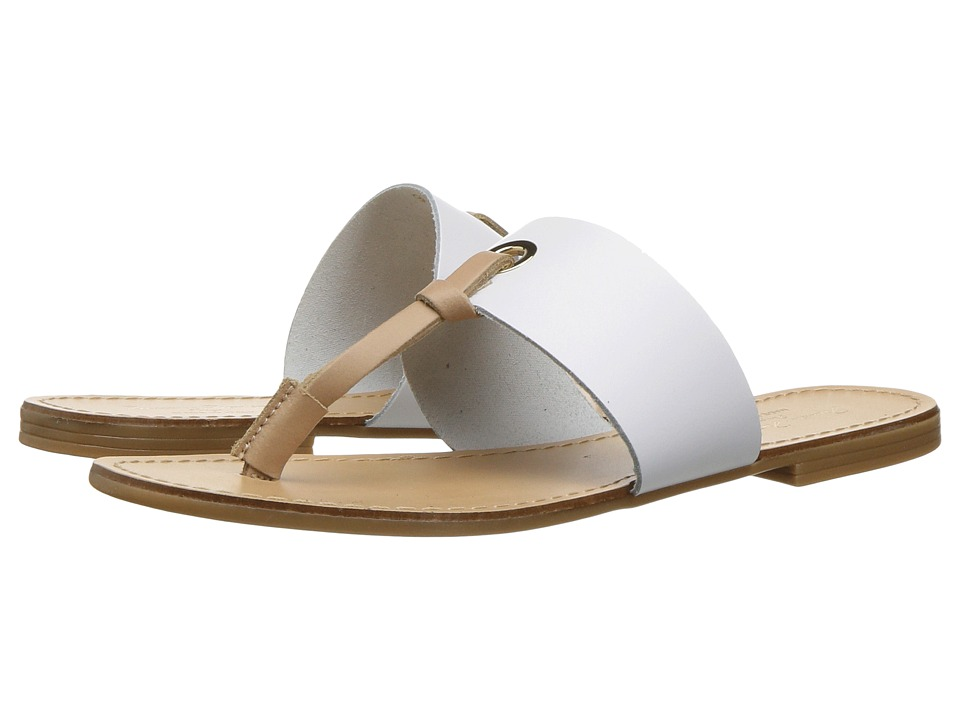 Massimo Matteo - Thong 17 (White) Women's Sandals
