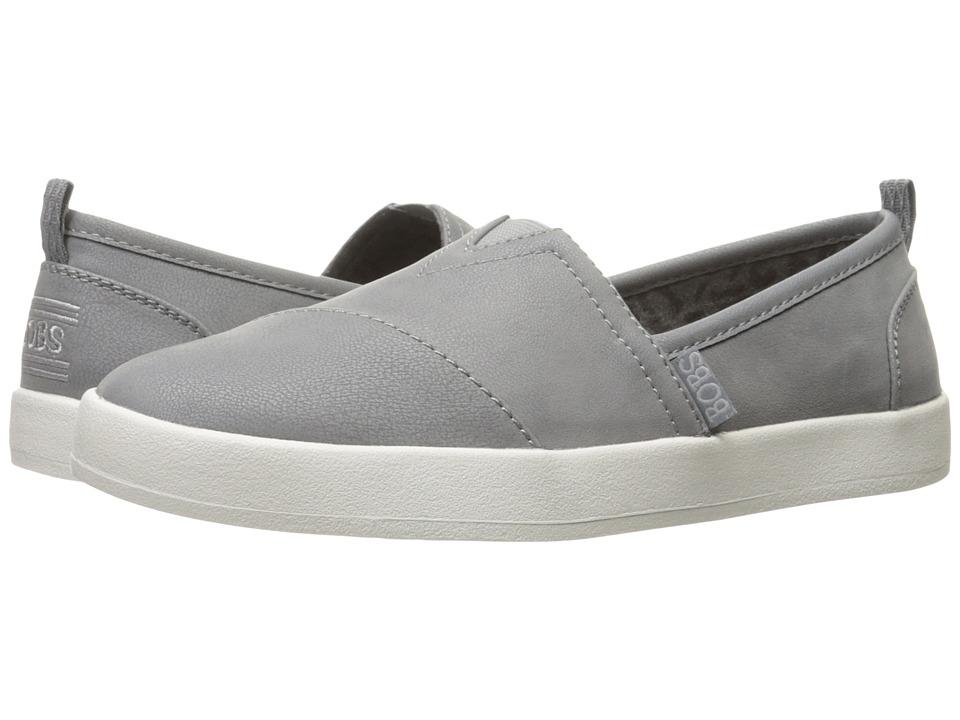 BOBS from SKECHERS B-Loved (Gray) Women's Slip on Shoes