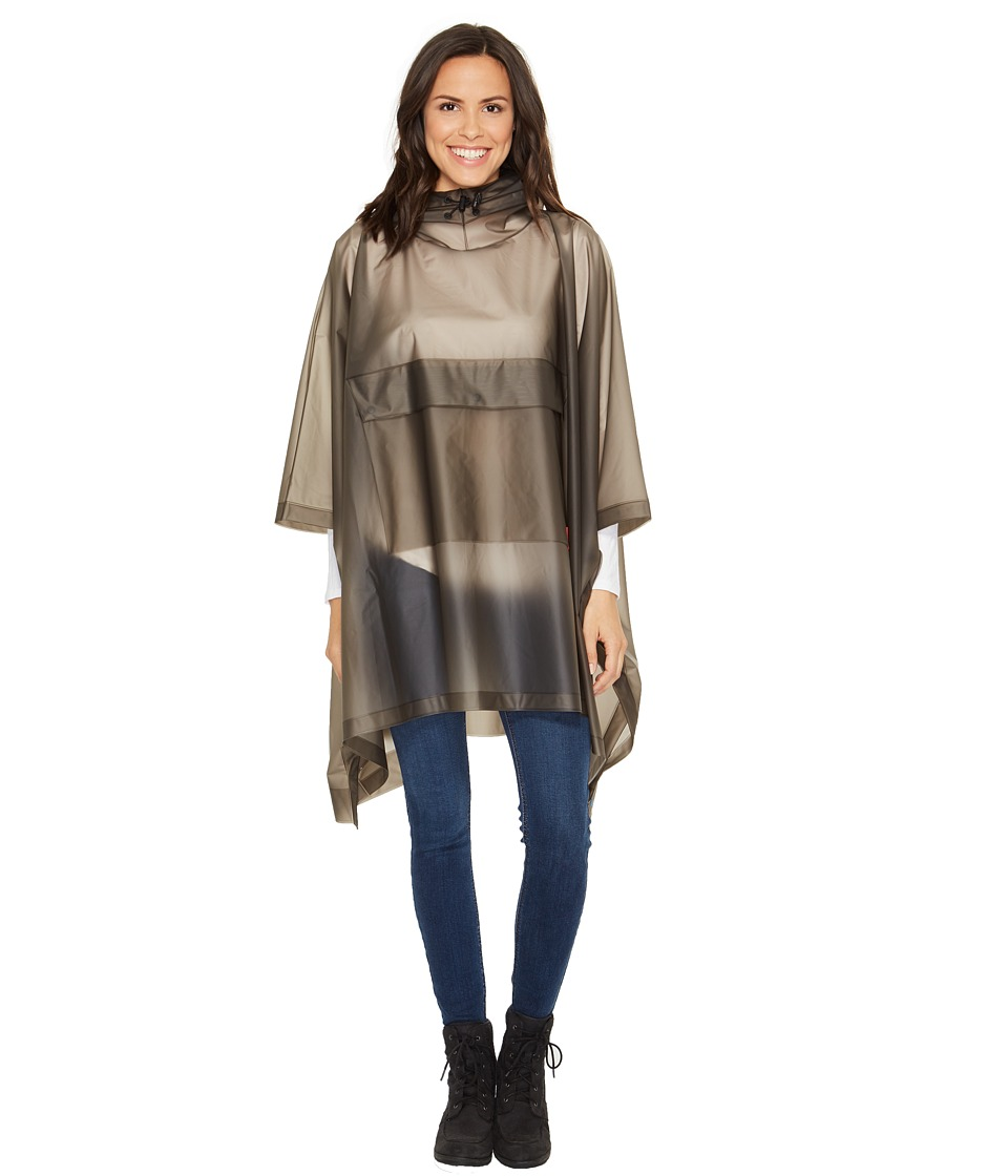 Hunter - Original Vinyl Poncho (Dark Slate) Clothing