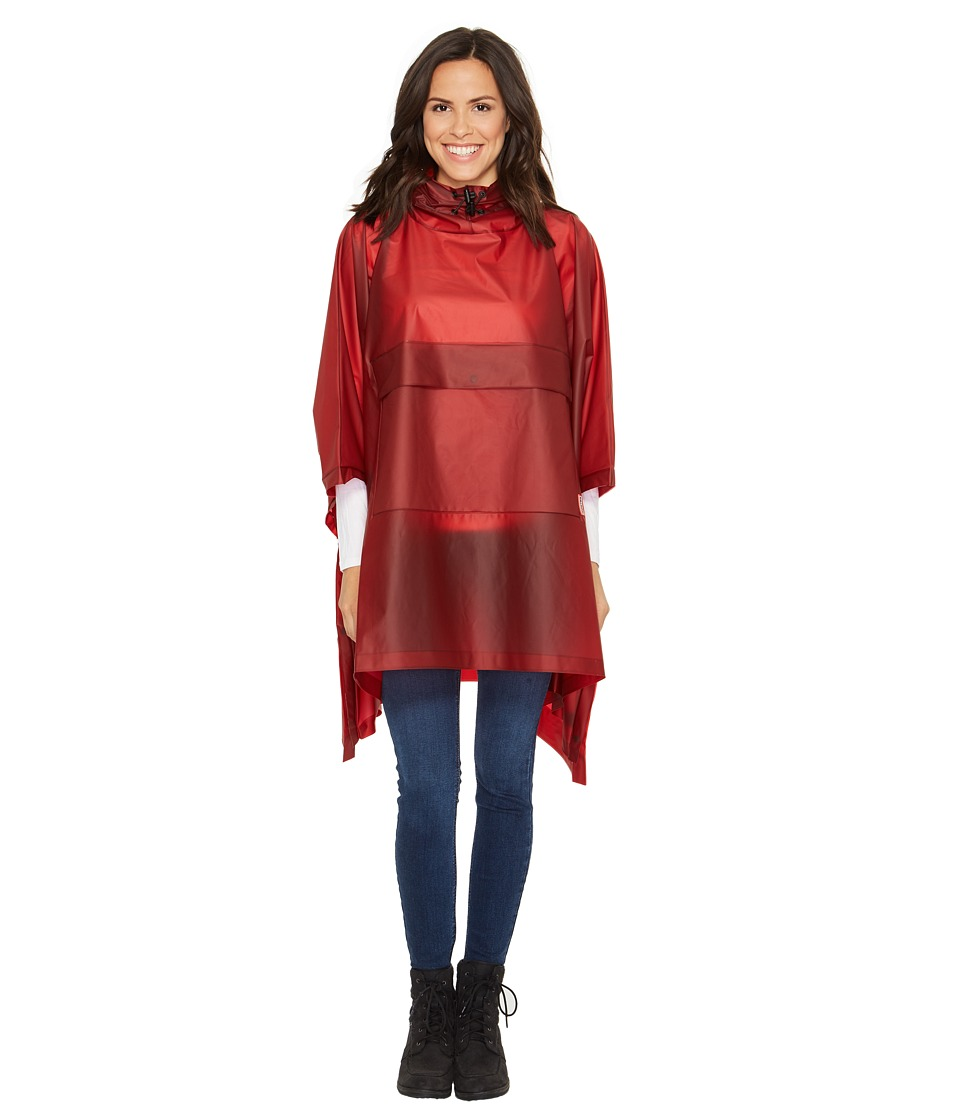 Hunter - Original Vinyl Poncho (Military Red) Clothing