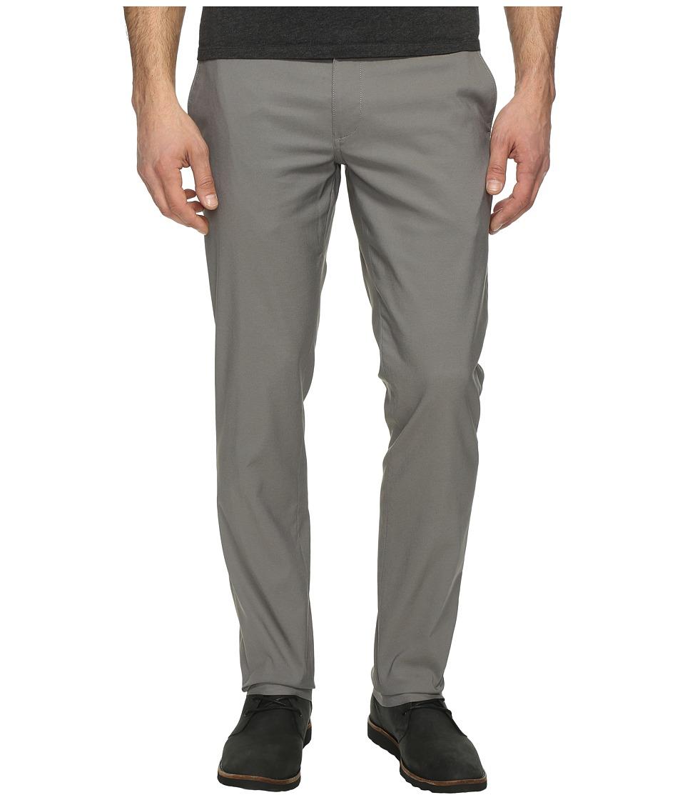 Perry Ellis - Slim Fit Stretch Twill Chino Pants (Castlerock) Men's Casual Pants