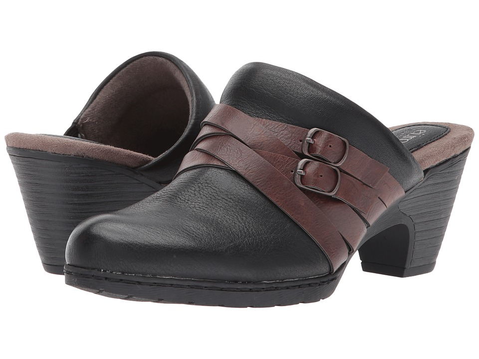 EuroSoft - Torrey (Black/Coffee) Women's Shoes