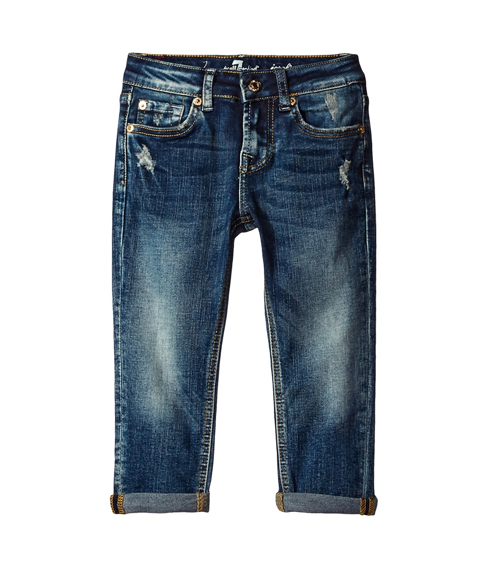 7 For All Mankind Kids - Josefina Boyfriend Jeans in Icelandic Blue (Big Kids) (Icelandic Blue) Girl's Jeans
