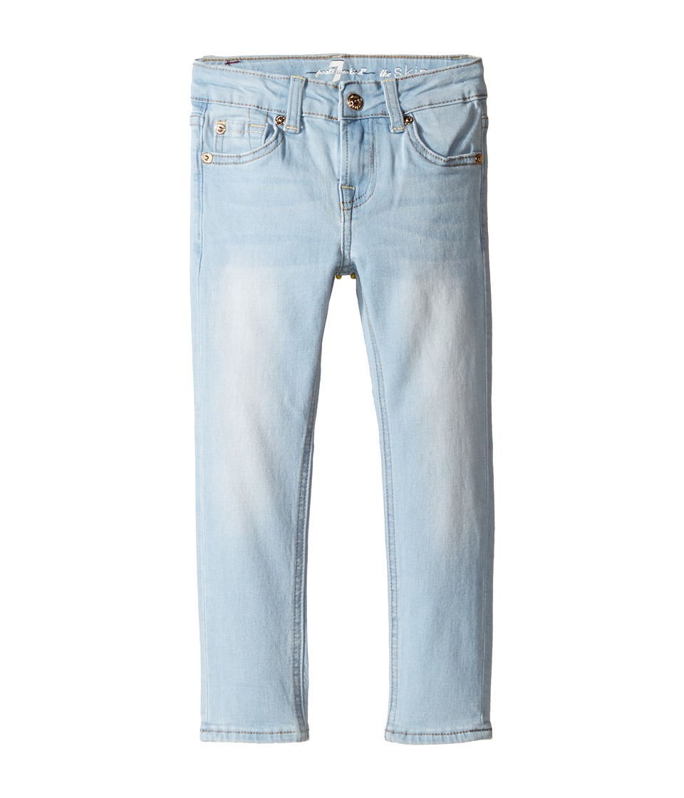 7 For All Mankind Kids - The Skinny Jeans in Daylight Blue (Little Kids) (Daylight Blue) Girl's Jeans
