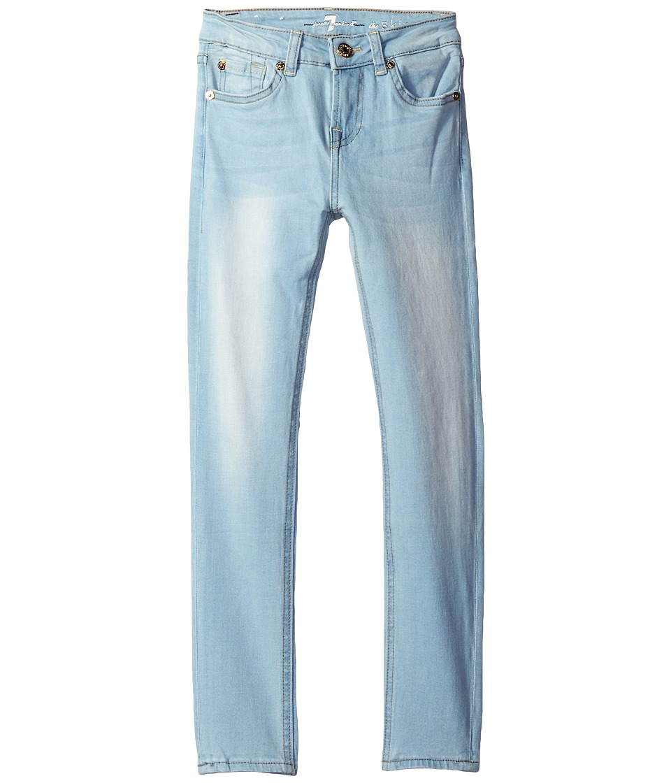 7 For All Mankind Kids - The Skinny Jeans in Daylight Blue (Big Kids) (Daylight Blue) Girl's Jeans